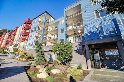 Seattle Condo/Townhouse For Sale: 500 Elliott Ave W #408