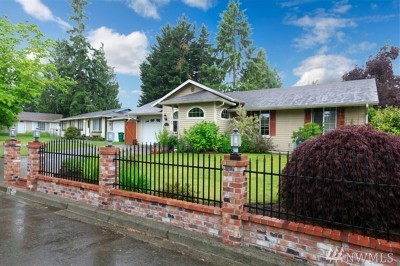 Tacoma Single Family Home For Sale: 33233 36th Ave SW
