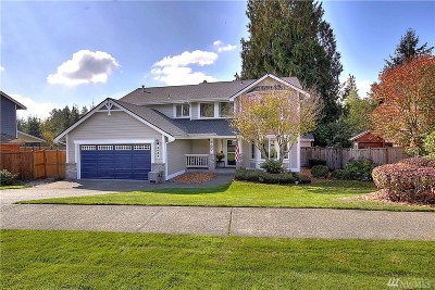 Tumwater Single Family Home For Sale: 3669 Cassie Dr SW