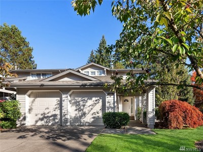 Bellevue Single Family Home For Sale: 6616 113th Place SE
