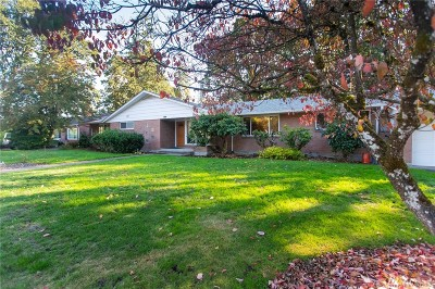 Chehalis Single Family Home For Sale: 1531 SW Snively Ave