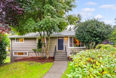 Shoreline Single Family Home For Sale: 17343 1st Ave NW