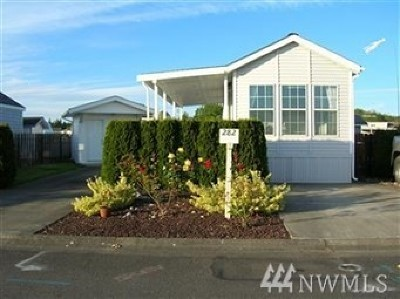 Blaine Condo/Townhouse Sold: 4751 Birch Bay Lynden Rd #282
