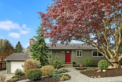 Kirkland Single Family Home For Sale: 14137 104th Place NE