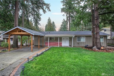 Redmond Single Family Home For Sale: 7114 139th Place NE