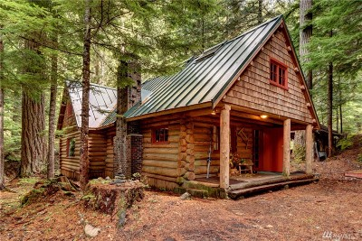 Single Family Home Sold: 96 Silver Creek - Usfs Cabin