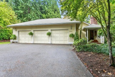 Woodinville Single Family Home For Sale: 15700 NE 183rd St