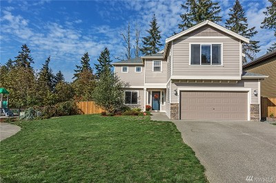 Spanaway Single Family Home For Sale: 6717 206th St Ct E