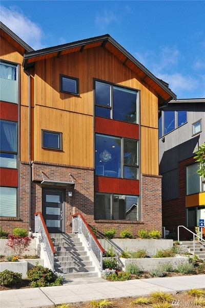 Seattle Condo/Townhouse For Sale: 6515 34th Ave NE #D
