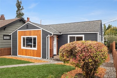 Seattle Single Family Home For Sale: 901 N 103rd St
