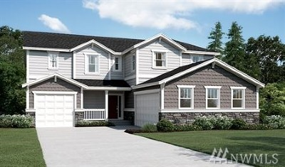 Puyallup Single Family Home Contingent: 13002 157th St E