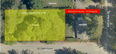 North Bend Residential Lots & Land For Sale: 13204 432nd Ave SE