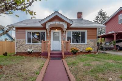Tacoma Single Family Home For Sale: 4011 E I St