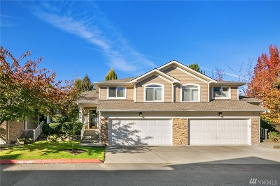 Kirkland Condo/Townhouse For Sale: 8631 113th Lane NE #1