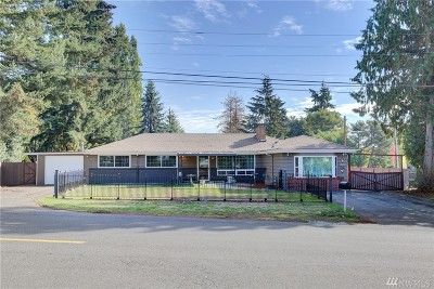 SeaTac Single Family Home For Sale: 20330 32nd Ave S
