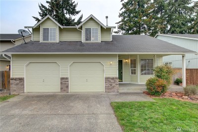 Puyallup Single Family Home For Sale: 8217 185th St Ct E