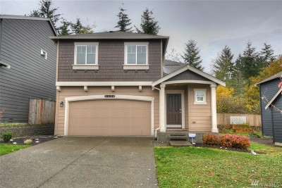 Spanaway Single Family Home For Sale: 2420 195th St Ct E
