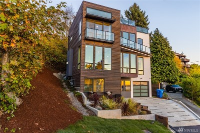 Seattle Single Family Home For Sale: 4564 53rd Ave SW