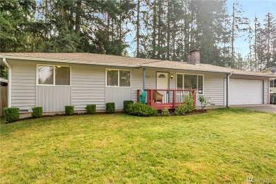 Port Orchard Single Family Home For Sale: 3805 Briarwood Dr SE