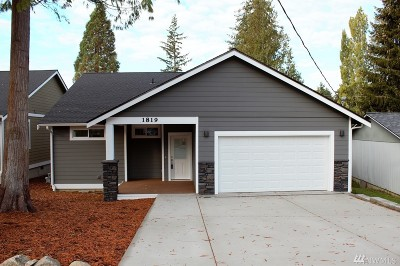 Bellingham Single Family Home Sold: 1819 Olympic Place