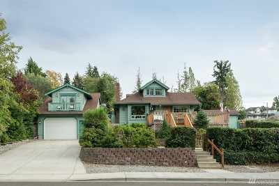 Steilacoom Single Family Home For Sale: 1704 Sequalish Street