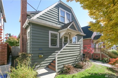 Seattle Single Family Home For Sale: 7324 Mary Ave NW