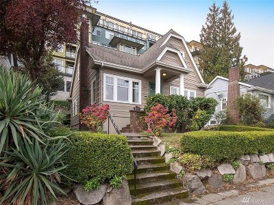 Seattle Single Family Home For Sale: 1919 Dexter Ave N