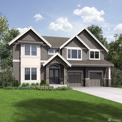 Sammamish Single Family Home For Sale: 2623 242nd Ave SE #Lot6