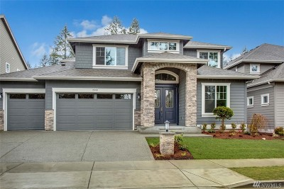 Sammamish Single Family Home For Sale: 2689 242nd Ave SE #Lot8