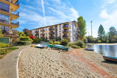 King County Condo/Townhouse For Sale: 13201 Linden Ave N #409A