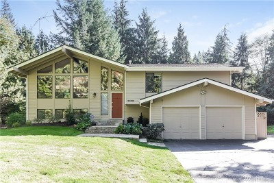 Woodinville Single Family Home Contingent: 22829 77th Ave SE