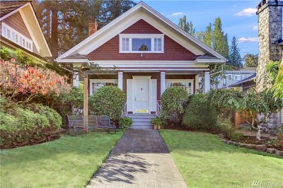 Pierce County Single Family Home For Sale: 606 N G St
