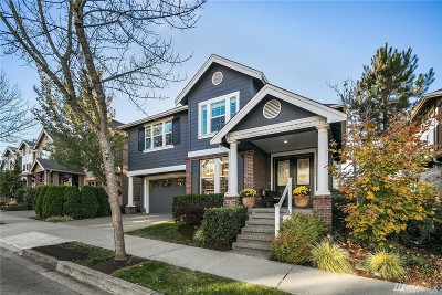 Issaquah Single Family Home For Sale: 1565 24th Ave NE