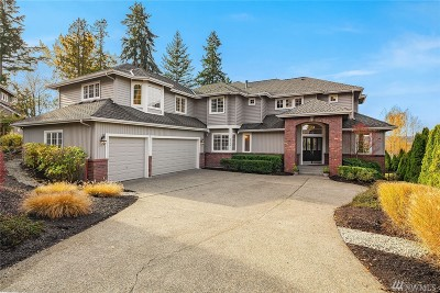 Sammamish Single Family Home For Sale: 5115 188th Place NE