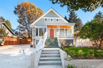 Single Family Home For Sale: 6810 40th Ave NE