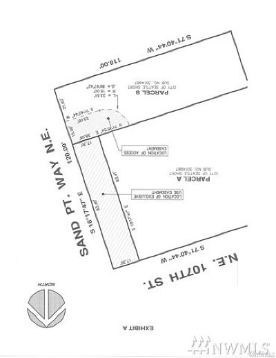 Seattle Residential Lots & Land For Sale: 10653 Sandpoint Wy NE