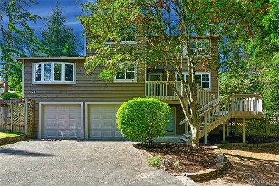 Shoreline Single Family Home For Sale: 407 N 182nd Ct