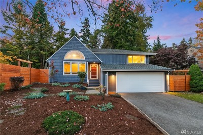 Kirkland Single Family Home For Sale: 9703 117th Place NE