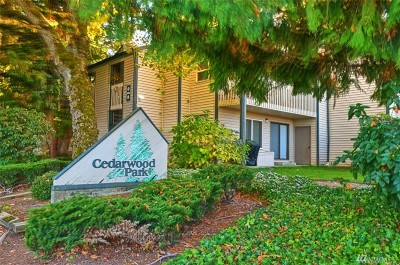 Mountlake Terrace Condo/Townhouse For Sale: 4603 216th St SW #A