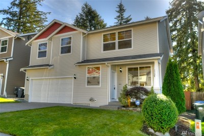 Spanaway Single Family Home For Sale: 1720 203rd St Ct E