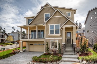 Kenmore Single Family Home For Sale: 16505 84th Ave NE #Lot 6