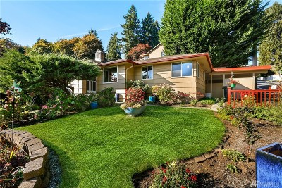 Bothell Single Family Home For Sale: 9419 NE 180th St
