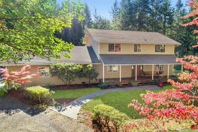 Bremerton Single Family Home For Sale: 9191 NW Klahowya Trail