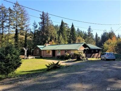 Mason County Single Family Home Sold: 3660 SE Lynch Rd