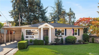 Kirkland Single Family Home For Sale: 10212 NE 65th St