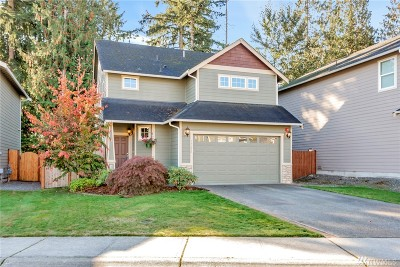 Bonney Lake Single Family Home For Sale: 17822 111th St Ct E