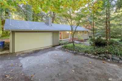 King County Single Family Home For Sale: 27704 NE 37th St