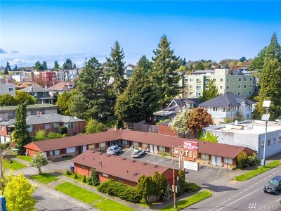 Seattle Commercial For Sale: 4401 Aurora Ave N