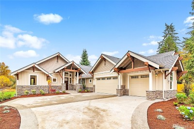 Snohomish Single Family Home For Sale: 19907 Fales Rd