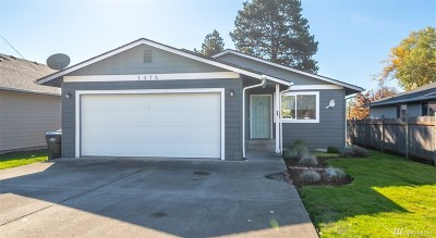 Chehalis Single Family Home For Sale: 1375 SW Williams St